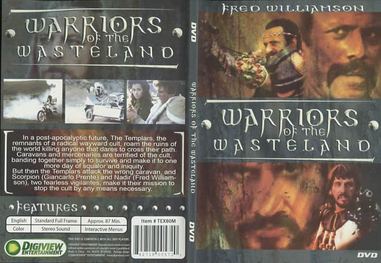 Warriors of the Wasteland - Enzo G. Castellari  cover