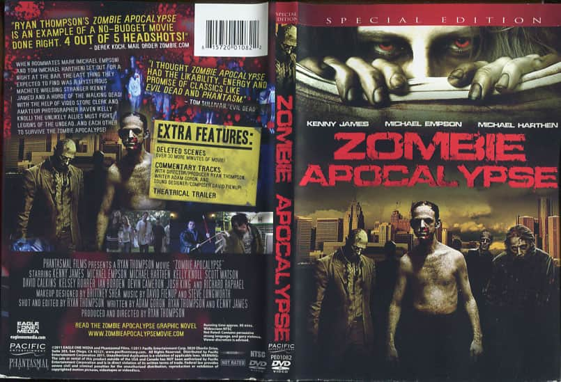 Zombie Apocalypse 2010 - Ryan Thompson cover